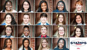 Compilation photo of the Stamps Scholars 2020 class