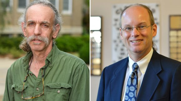 Two Faculty Members Appointed as Distinguished Professors
