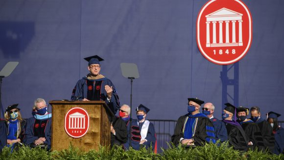 Reckford Challenges 2021 Graduates to 'Pursue Purpose, Not Just Success'