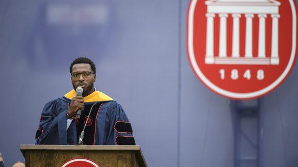 NFL Legend Patrick Willis Helps Fulfil Promise to 2020 UM Graduates